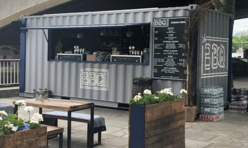 Catering, street food and mobile bar trailers: Container Conversion 1 500x300 Shipping & Modifications