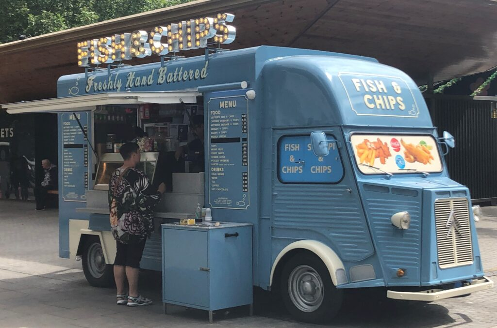 Catering, street food and mobile bar trailers: Fish n Chip Truck 1 1024x677 About Us