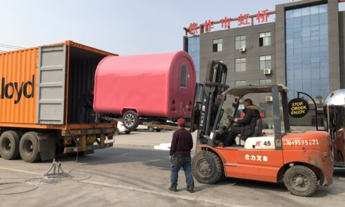 Catering, street food and mobile bar trailers: Shipping Pod 500x300 Shipping & Modifications