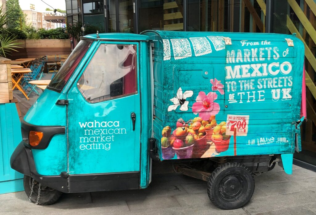 Catering, street food and mobile bar trailers: Wahaca TukTuk 1024x697 About Us