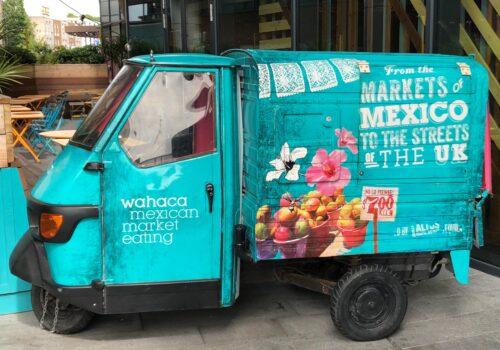 Catering, street food and mobile bar trailers: Wahaca TukTuk 500x350 Home